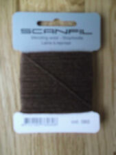 Scanfil Mending Wool 15m - Full Range of Colours Available Brown