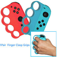 Finger Clasp Hand Grip Anti-slip Handle for Switch Boxing Fitness Game 2pcs