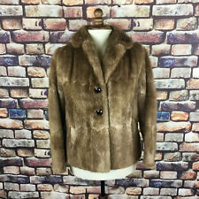 Woman's Vintage Fur Coat Fox Size 14 Dysons of Leeds Good Condition - Stunning !