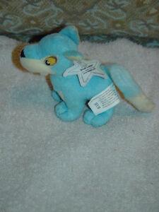 McDonald Neopets 2004 Blue Lupe Plush Toy