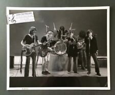 Original 1960's 8 x 10 Rock & Roll Publicity Photo Jefferson Airplane TV Set