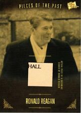 PIECES OF THE PAST VOLUME TWO RONALD REAGAN SIGNED DOCUMENT PIECE CARD