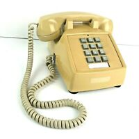 Vintage Touch Tone Desk Phone ITT 250044-MBA-20M Dated 09-96