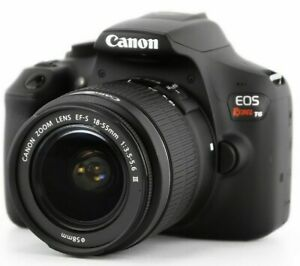 NEW Canon EOS Rebel T6 Digital SLR Camera Kit with EF-S 18-55mm f/3.5-5.6 IS II