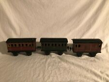 Marklin 1 Gauge Passenger Cars Baggage Car JEV 1891, 1892 and 1892