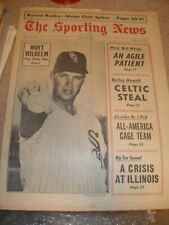 March 1967 The Sporting News - Hoyt Wilhelm Chicago White Sox HOF Relief Pitcher