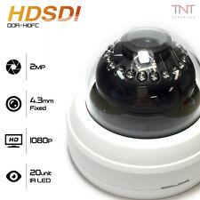 HD SDI 1080P 1/2.9 inch SONY CMOS CCTV Day / Night Dome Camera 4.3mm Fixed Lens