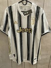 adidas JUVENTUS 20/21 Heat.rdy Mens Size 2xl Authentic Home Soccer Jersey Gj7601