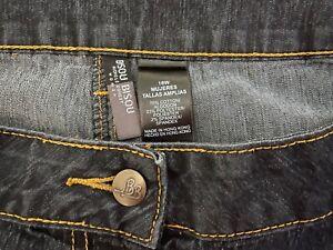 Women's Bisou Bisou, Blue Jeans - VG Cond. - 78% Cotton - Size 18 W