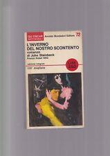 L'INVERNO DEL NOSTRO SCONTENTO John Steinbeck ED. INTEGRALE bianciardi Mondadori