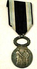 France Social Welfare Medal - Silver, named, 1911 / N121