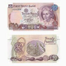 Irlanda-First Trust Bank de £ 20-KB prefijo-ByB Ref: NI.422b - UNC.