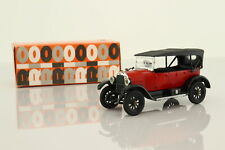 Rio #4; 1918 Fiat 501s Torpedo Lusso; Closed Tourer, Red; Excellent Boxed