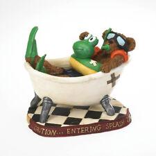 """Boyds Bearstone """"Flipper T. Snorklebeary.Scrub A Dub Dub"""" #4022171 - 2011"""