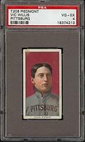 Rare 1909-11 T206 HOF Vic Willis Portrait Piedmont 150 Pittsburg PSA 4 VG - EX