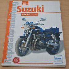 SUZUKI GSX 750 ab 1997 Motor Kupplung Getriebe Elektrik Reparaturanleitung B5222
