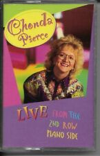 "CHONDA PIERCE....""LIVE FROM THE 2ND ROW PIANO SIDE""......OOP HTF GOSPEL CASSETTE"