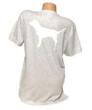 NWT Victorias Secret Pink Pocket Graphic Tee Tshirt Short Sleeve Size Medium