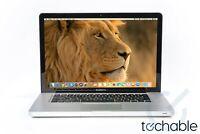  Apple MacBook Pro 15 / 2.66GHz i7 / Upgraded - 8GB - 1TB / 3 YEAR WARRANTY