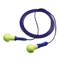 5 PAIRS 3M AEARO EAR 318-1001 EAR PUSH-INS EARPLUGS NRR 28