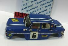 Team Slot Carrosserie Renault 8 Coupe Ts #5 Résine