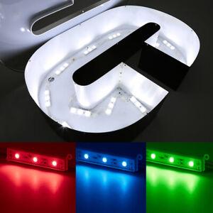 AC/DC LED Signage Module Light 2835/3535/5050 Waterproof Sign Decoration Lights