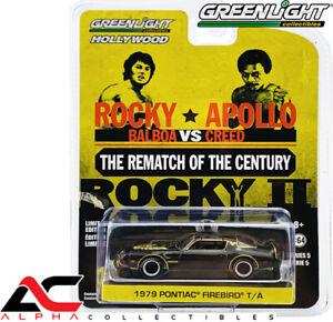 GREENLIGHT 44650C 1:64 1979 PONTIAC FIREBIRD TRANS AM (ROCKY II)