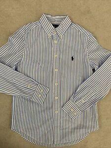 Ralph Lauren Polo Boys Formal Shirt Age 10 Years (8-10)