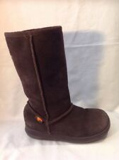 Girls Rocket Dog Brown Suede Boots Size 1