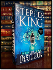 The Institute by Stephen King New UK Waterstone Hardback 1st Print Sprayed Edges