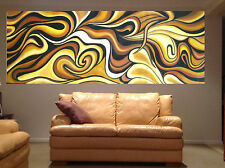 "94"" x 39"" Huge Abstract Art Change Colours By Jane Authentic Modern Aboriginal"