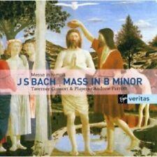 A./TAVERNER CONS.+CHOR PARROTT - MESSE IN B - JOHANN SEBASTIAN BACH 2 CD NEW