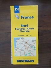 MICHELIN FRANCE MAP 236 FRANCE - NORD FLANDRES-ARTOIS PICARDIE