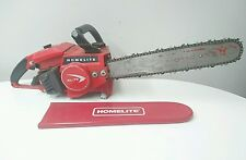"VINTAGE COLLECTIBLE HOMELITE XL-75 58cc  CHAINSAW WITH 16"" BAR Canadian RARE"