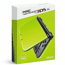 Nintendo 3ds LL Lime × Black Video Game Portable From Japan