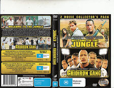 Welcome To The Jungle/Gridiron Gang-2003/2006-Dwayne Johnson-2 Movie-2 DVD