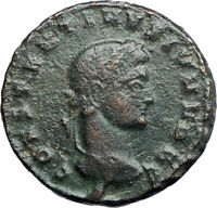 CONSTANTINE II Jr. Constantine I the Great son Ancient Roman Coin Wreath i80224