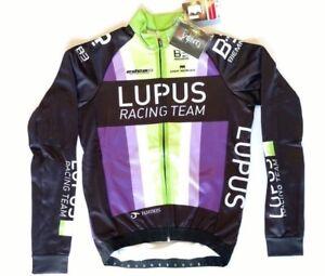 size XS New 2016 Men/'s Biemme Lupus Cycling SS San Remo Skinsuit Black//Green
