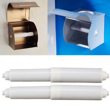 New Replacement Toilet Paper Roll Holder Roller Spindle Insert Spring Plastic UK