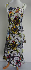 Floral & Butterfly Scuba Dress - US 12 - AU Size 14 - BNWT