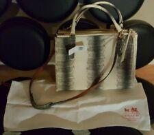 Coach Black Crossgrain Mini Christie Carryall Satchel F57523 Wallet
