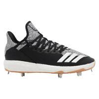 NEW Mens Adidas Icon 4 Metal Baseball Cleats F36439 Black/Carbon/White  -Pick Sz