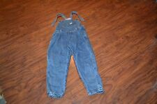 A14- Vintage Guess by Georges Marciano Denim Overalls Size 6X