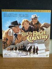 Ride The High Country Laserdisc Deluxe Letterbox Edition
