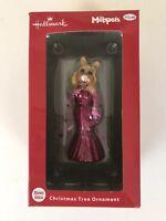 Hallmark Disney The Muppets Miss Piggy Blown Glass Ornament