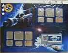 1975 United States Uncirculated Mint Set Panel - Postal Commemorative Society