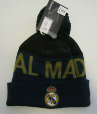Unisex Real Madrid Beanie Soccer Team, New Official Product One Size Fit Al Hat