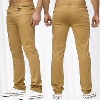 CHINO DS style Jeans Regular Fit Pantalon chino W29 - W38 Brown Beige
