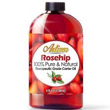 Aceite De Rosa Mosqueta - Retrasa la Aparición De Arrugas E Hidrata la Piel 4 Oz