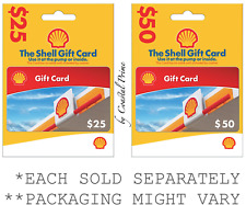 NEW $25 OR $50 Shell Gift Card - Car Truck Vehicle Gas Fuel Diesel Pump or Store